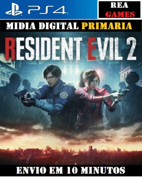 Resident Evil 2 Remake Ps4 - Original 1 Psn - Vitalicio