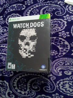Watch Dogs Xbox 360 Edicion Limitada Nuevo Envio Gratis