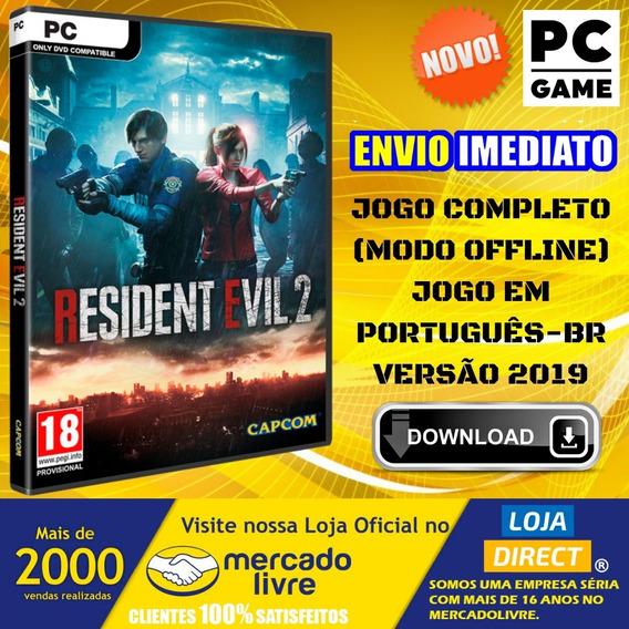 Resident Evil 2 Remake + 9 Dlcs - Pc - Português - Digital