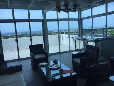 Hermoso Penthouse De 3niveles Amueblado En Bella Vista