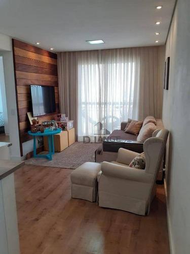 Imagem 1 de 27 de Lindo Apartamento No Residencial Doce Lar. - Ap18212