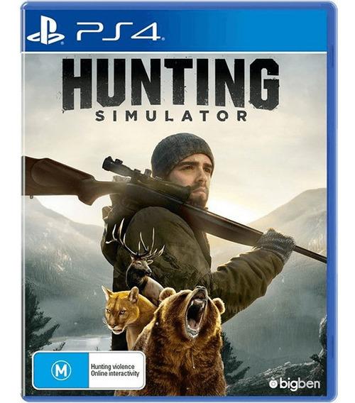 Hunting Simulator Inglês Playstation 4 - Maximum Games