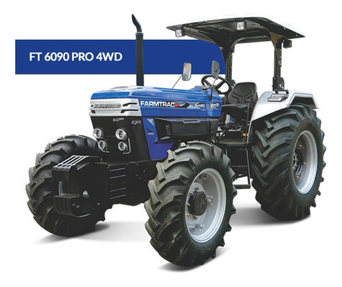 Tractor Farmtrac 90 Hp 4x4 Con Inversor Entrega Inmediata