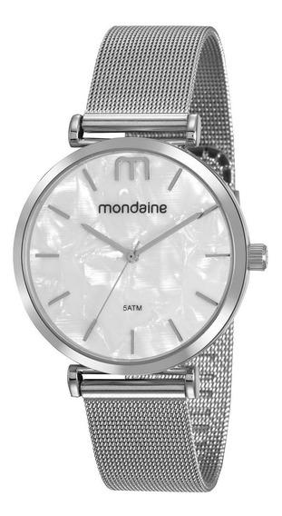Relógio Feminino Mondaine 53780lpmvge2 40mm Aço Prata