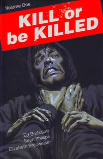 Hq Encadernada Kill Or Be Killed 1 Capa Variante Em Inglês
