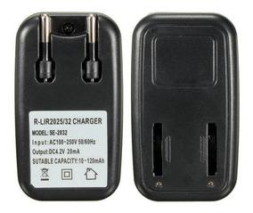 Carregador Bívolt De Baterias Lir2025 E Lir2032