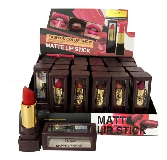 Labial Matte Lipstick Fashion Color T1463 Tejar 24 Uni Lfme