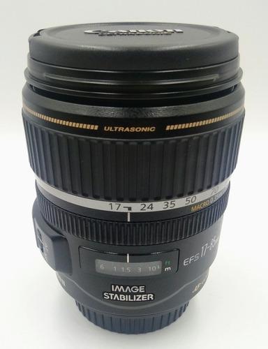 Lente Canon 17-85mm F3.5-5.6 Is Usm Estado De Zero