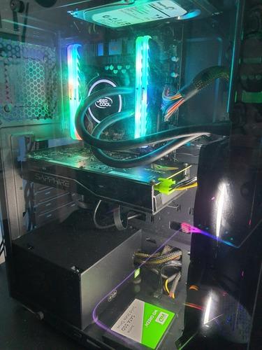 Imagem 1 de 6 de Pc Gamer Xeon, 16gb, Rx 460 4gb