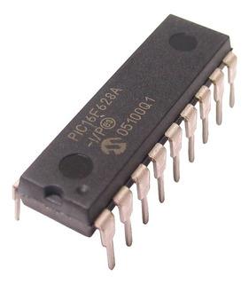 Microcontrolador Pic 16f628a 16f 8bit 18 Pines [ Max ]