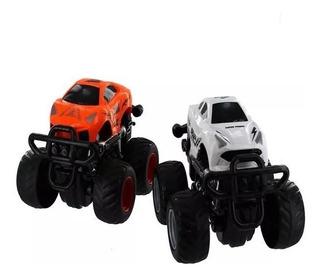 Carrinho De Brinquedo Monster Truck Express Wheels - Branco