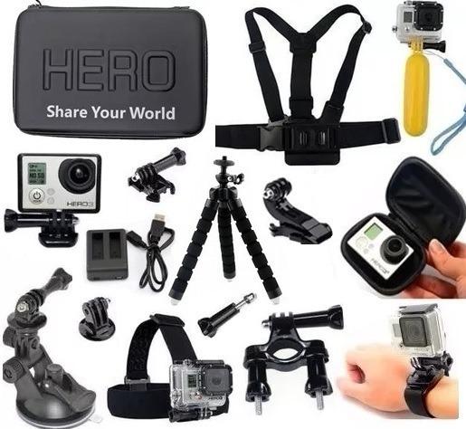 Acessórios P Gopro Hero 3+ 4 Black Hero 5 Hero 6 Carregador