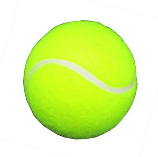 Pelota De Tenis Color Amarillo