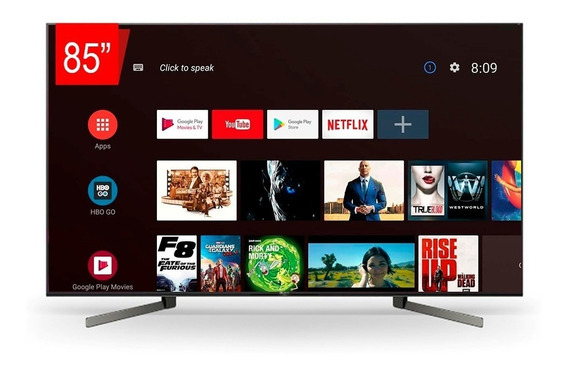 Tv Led Sony 85 Xbr-85x955g Smart Uhd 4k