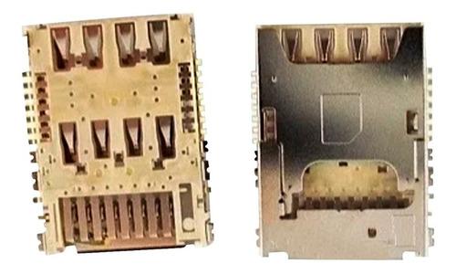 Imagen 1 de 1 de Socket Lector De Sim Y Sd Samsung G355 G530 G531 G532 J500