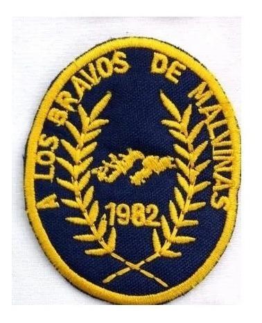 Escudos Bordados Bravos De Malvinas