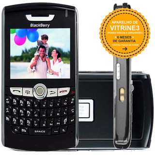 Celular Blackberry 8800 Single 2g Mp3 2.5 Preto Vitrine 3