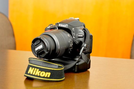 Câmera Fotográfica Semi-profissional - Nikon D5100