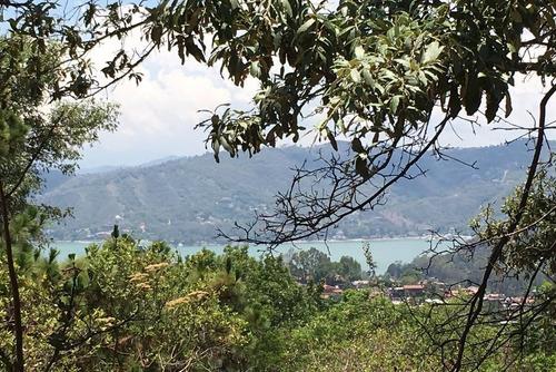 Imagen 1 de 5 de Terreno En Venta Con Vista Al Lago Valle De Bravo
