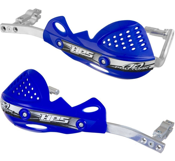 Protetor Mão Manete P/ Guidão Moto Pro Tork Hps Cross Azul