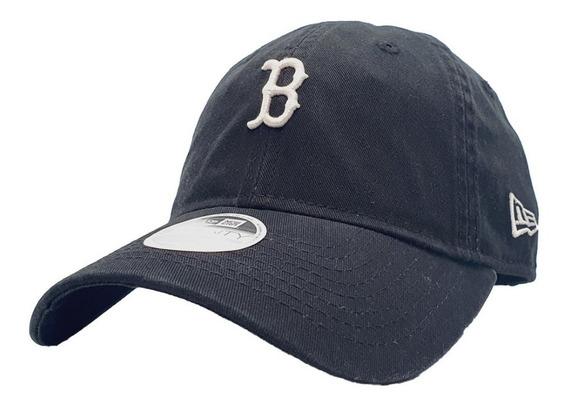 Gorra Boston Red Sox Mlb New Era Negra Para Mujer