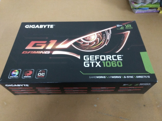 Liquido.placa De Video Geforce Gigabyte Gtx 1060 6gb