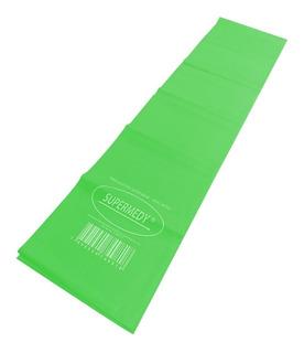 Faixa Elástica Verde Extra Forte 120 X 15 Cm Supermedy