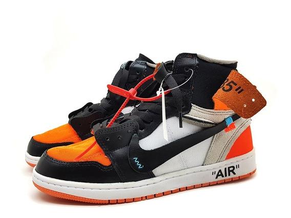 Tenis Nike Air Jordan 1 Off White Hype Outfit + Frete Grátis