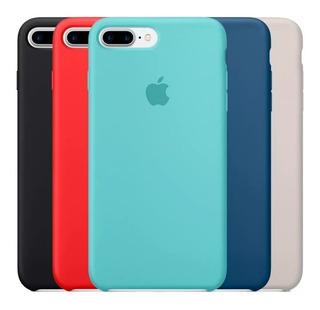 Capinha C/ Logo Apple iPhone 7/8 Plus Xs X Xr Xs Max Aveluda