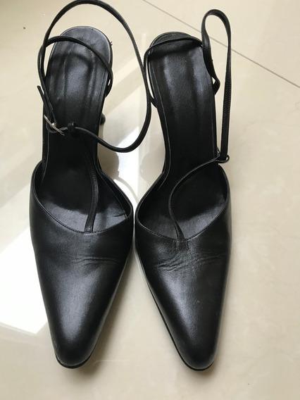 Zapatos Dama Tacon 25.5 Negro