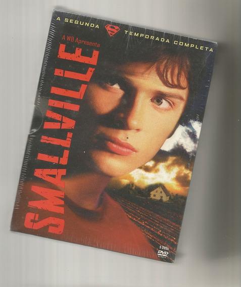 Smallville - 2ª Temporada Box Digistak 6 Dvds Lacrado