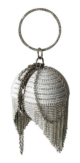 Bolsa Clutch Esférica Com Alça Removivel, Ref: 403