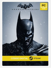 Batman Arkham Origins Português Pc Steam Cd-key