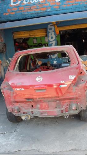 Sucata Nissan Tiida 1.8 (peças Em Geral Motor Cambio Acabame