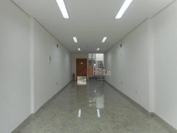 Salão Comercial Para Locação, Tatuapé, São Paulo. - Sl0066