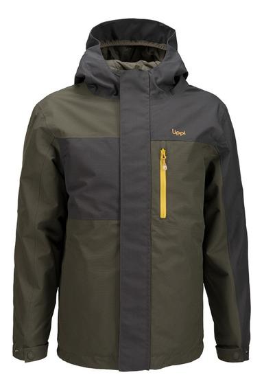 Chaqueta Niño Lippi Andes Snow B-dry Jacket Verde I19