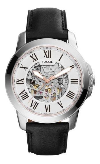 Relógio Fossil Masculino Automatico Me3101/0kn Esqueleto
