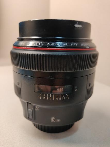 Canon Ef 85mm 1.2 L Ii ( Defeito )