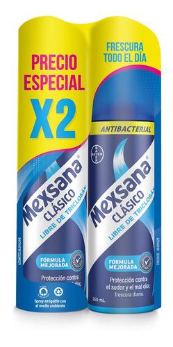 Oferta Desodorante Pies Mexsana Spray Clasico X 2und X 260ml