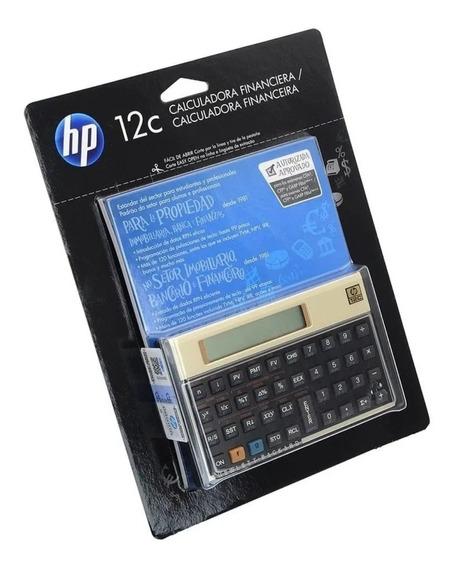 Calculadora Hp 12c Gold Lacrada