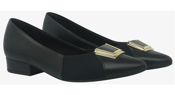 Sapato Scarpin Usaflex Ab6602 Care Joanetes Em Couro