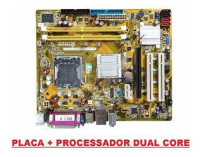 Placa Mae Positivo Ag31ap 775 Ddr2 + Processador C/ Espelho