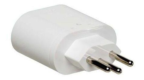 Protetor Dps Iclamper Pocket 3p 10a Bivolt Branco 1 Tomada