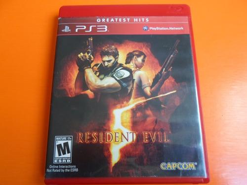 Canje 1x1 Resident Evil 5 Ps3 Venta Envios Caba Sin Cargo