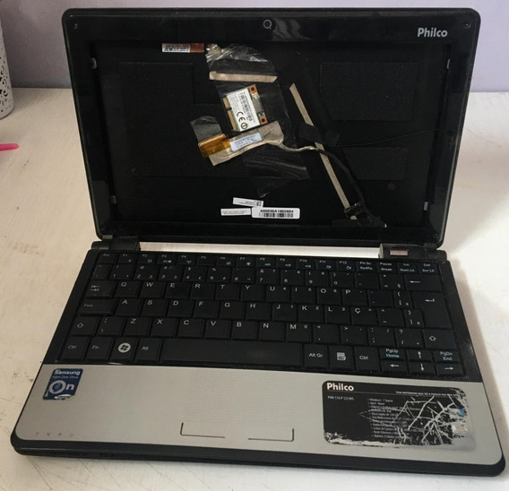 Carcaça Completa Notebook Philco Phn 11a