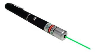 Puntero Laser Verde 200m Estilo Lapicera Usb Recargable Caja