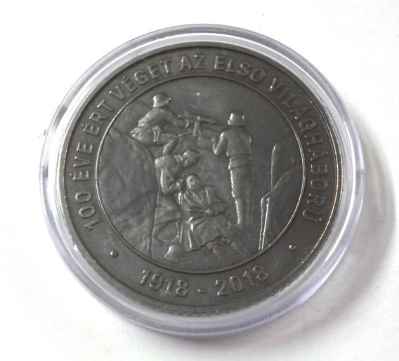 Hungria 2018 Moneda 2000 Forint 100 Aniv. 1ra Guerra Mundial