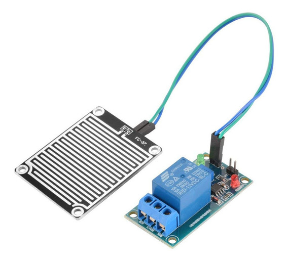 12v Raindrop Controller Módulo Raindrop Sensor Módulo Com