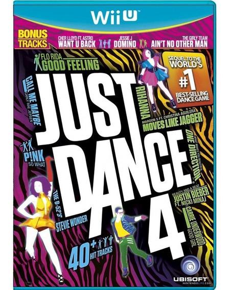 Just Dance 4 Wii U Mídia Física Pronta Entrega