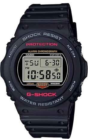 Relógio G-shock Dw-5750e-1dr *revival
